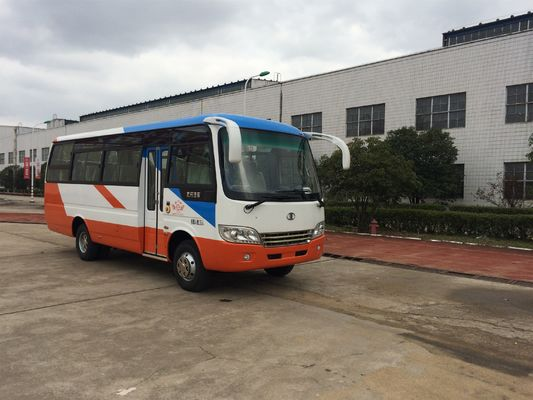 ประเทศจีน Diesel Engine Star Minibus 30 Seater Passenger Coach Bus LHD Steering ผู้ผลิต
